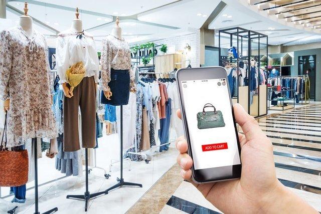 esempio di shopping Dressplaner da cellulare